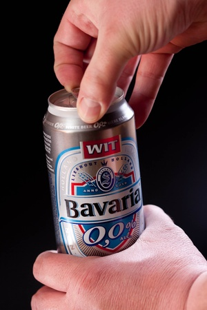 non alcoholic beer: Bavaria beer