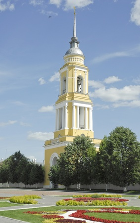 Small orthodox church in the ancient town Kolomna, Russia photo