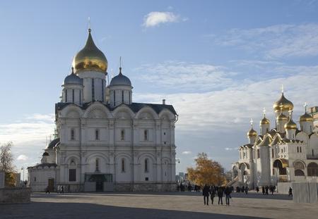 sobor: Cathedral of the Archangel Michael (Archangelskiy sobor) (1508), Kremlin, Russia