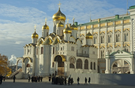 The Annunciation Cathedral, Moscow Kremlin, Russia Stock Photo - 12063633