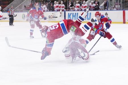 MOSCOW - JANUARY 31 : Hockey match