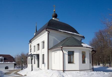 Uspensky church in Shchapovo village of the Podolsk area  Russia photo