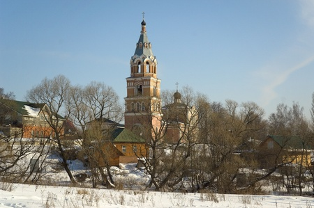 Troitsky temple of the village of Oznobishino of the Moscow Diocese photo