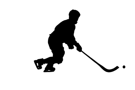 image of hockey game Stock Vector - 13776487