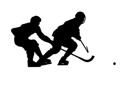 image of hockey game Stock Vector - 13776492