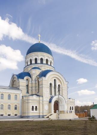 Sacred Uspenskaya Tikhonov Pustyn in Kaluga region  Russia Stock Photo - 13997807