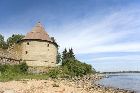 Old Golovina  Head  tower at Shlisselburg fortress Oreshek