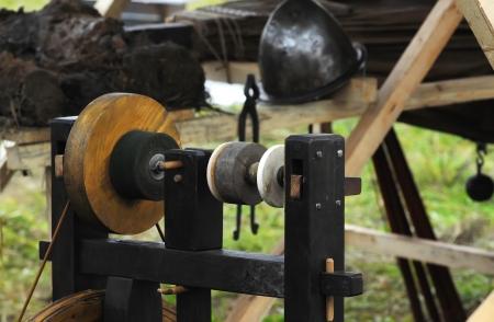 Sharpener in old forge