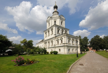 mikhail: Church of Mikhail Archangel in architecture complex of Andronikov Monastery  Moscow  Russia
