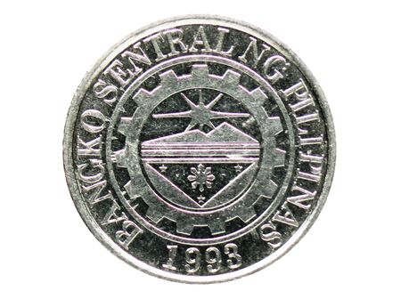 1 Piso (magnetic) coin, Bank of Philipennes. Reverse, issue on 2012