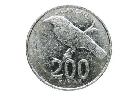 200 Rupiah coin, 1999-2010 - Fourth series, Bank of Indonesia. Obverse, 1999