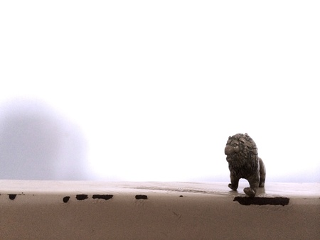 lion figurines: Lion figurine