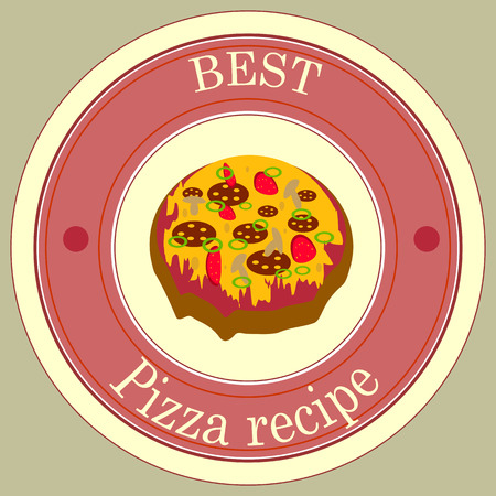 pizza pie: Sticker best pizza pie recipe.