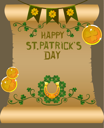 St. Patricks Day poster design