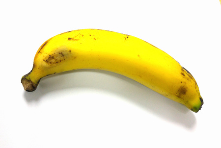 Old banana. Stock Photo