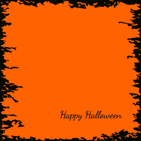 noticeable: Festive Halloween background with empty space for your design.