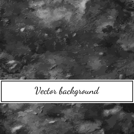 Vector grey watercolor background for your design.