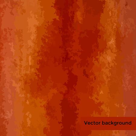 Vector orange watercolor background for your design. Stock Vector - 33284918