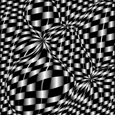 checkerboard: Checkerboard background of black and white squares.