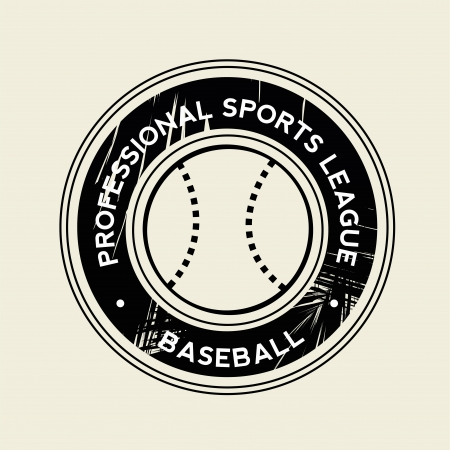 teammate: baseball symbol on white background Illustration