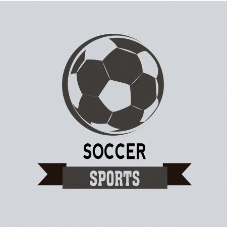 teammate: soccer icon on light blue background Illustration