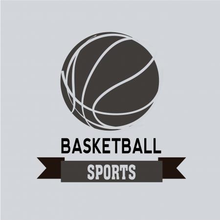 teammate: basketball icon on light blue background Illustration