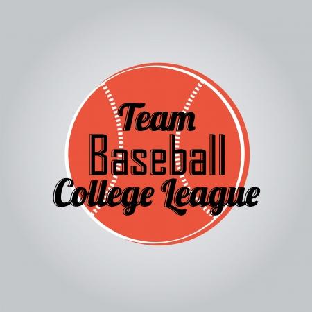 degraded: baseball icon on degraded background