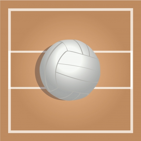 teammate: volleyball on special ground to play