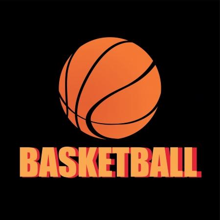 teammate: basketball icon on black background