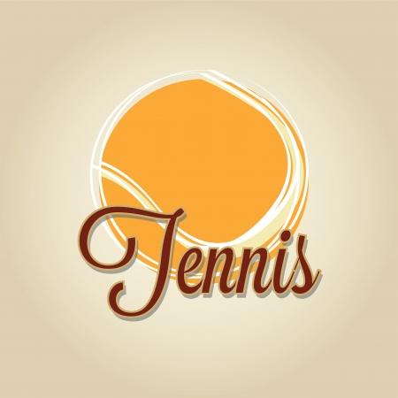 degraded: tennis ball on degraded background