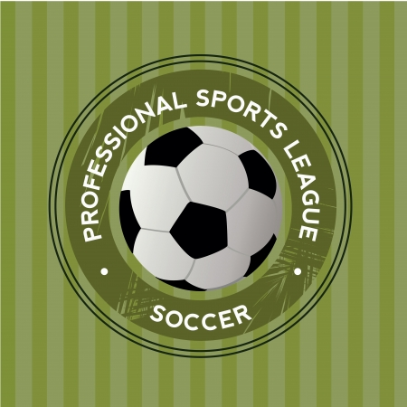 teammate: soccer icon on green special background Illustration