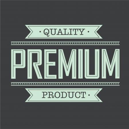premium icon on special background Vector