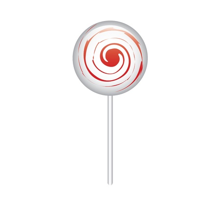 especial: especial candy with and spiral on it