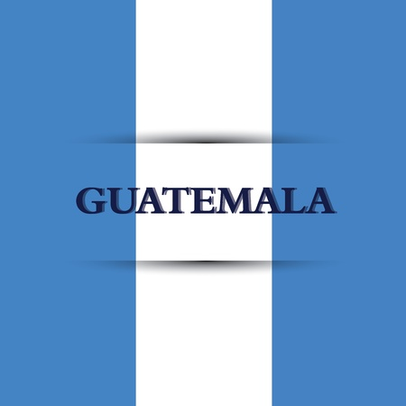 guatemala text on special background allusive to the flag