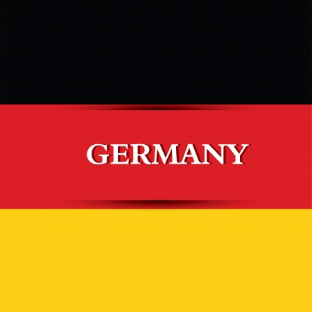 allusive: Germany text on special background allusive to the flag