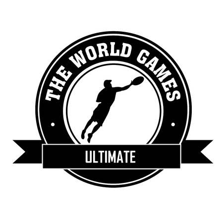 ultimate: Ultimate symbol on white background Illustration
