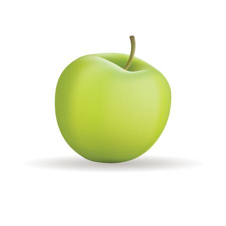 abstract fruit: Fruta abstracto con efecto de sombra sobre fondo blanco