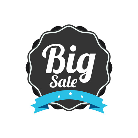 abstract special offer label on white background Vector