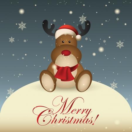 Abstracte Kerst achtergrond met speciale kerst objecten
