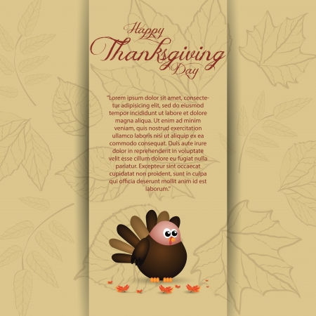 abstract thanksgiving day background with allusive special objects Vector