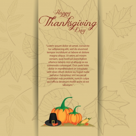 allusive: abstract thanksgiving day background with allusive special objects