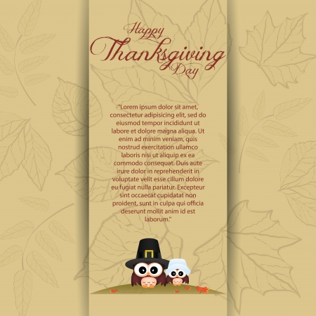 abstract thanksgiving day background with allusive special objects
