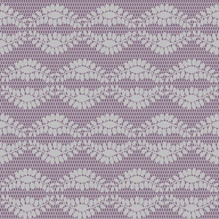 Seamless lacy pattern  Objects grouped and named in English  No mesh, gradient, transparency used   Stock Vector - 16926189