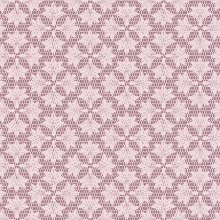 Seamless floral lacy background.  Vector