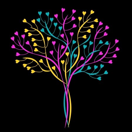 Decorative tree Stock Vector - 17727579