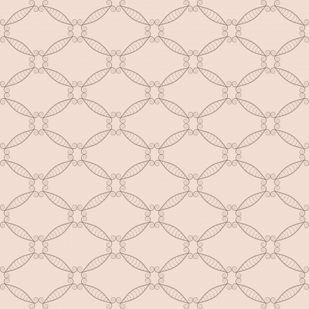 Retro net seamless pattern  Objects grouped and named in English  No mesh, gradient, transparency used Stock Vector - 17909906