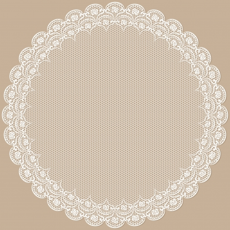 Round lacy frame  Objects grouped and named in English  No mesh, gradient, transparency used