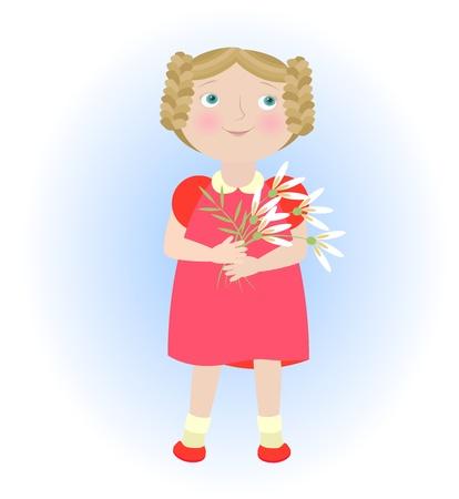 dressy: Chica historieta con el peine que ilustran virgo zodiaco Objetos agrupados y nombrados en Ingl�s No malla de degradado transparencia utilizada utilizado