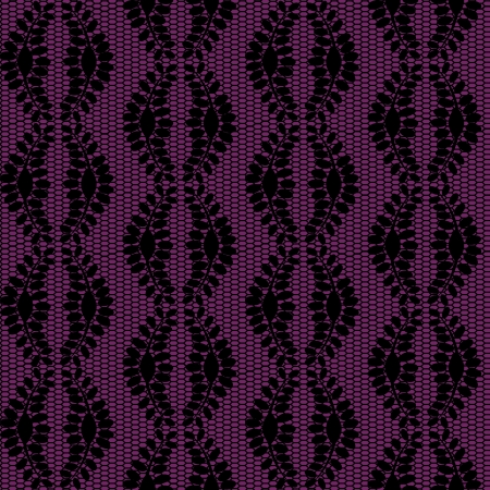 Dark purple lacy background   Illustration