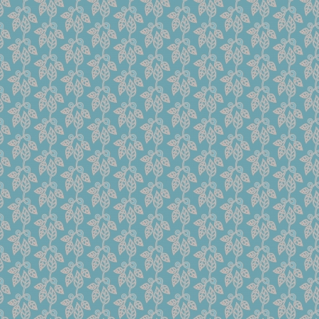 Retro floral seamless wallpaper background   Illustration
